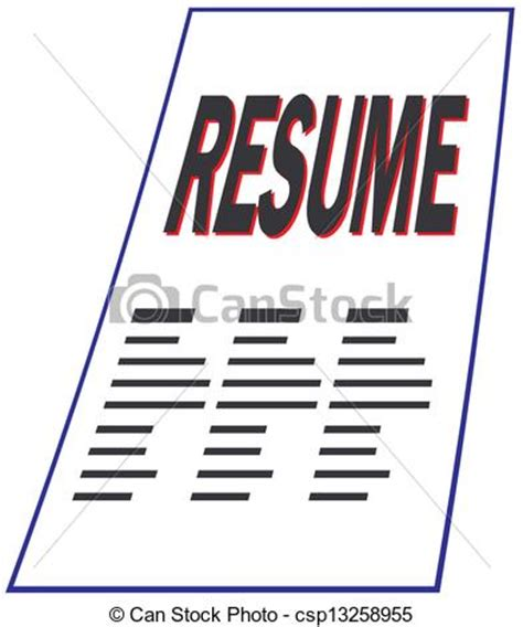 Defintion of e resume