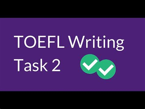 TOEFL Writing Question 1 - Integrated Writing Read