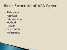 Sample APA Research Paper - kuportal-aakamaihdnet